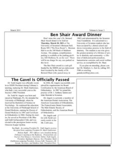 thumbnail of March-2011-Newsletter